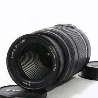 キヤノン(Canon)の24h以内即日発送❤️Canon EF-S 55-250mm IS 望遠レンズ♪(レンズ(ズーム))