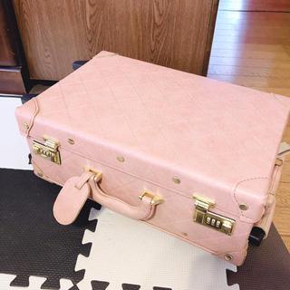 リエンダ(rienda)のrienda キャリーバッグ ベージュ(スーツケース/キャリーバッグ)