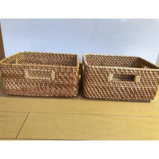ニトリ - 収納     カゴ    ニトリ    2個セット