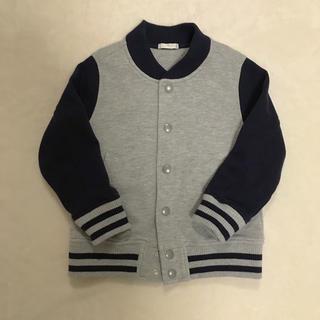 ジーユー(GU)の春秋 キッズ 110 ブルゾン スタジャン 羽織り 上着(ジャケット/上着)