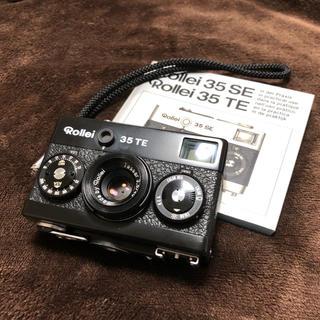 お洒落で小さなフィルムカメラ Rollei 35TE ブラック(フィルムカメラ)