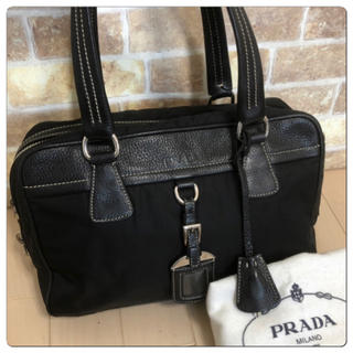 PRADA - 《美品》PRADA(プラダ)ハンドバッグ