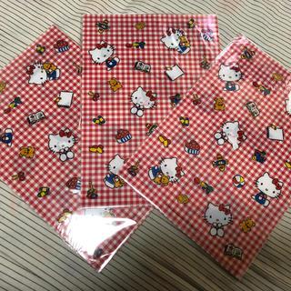 ハローキティ(ハローキティ)のキティちゃん クリアファイル 3枚(クリアファイル)