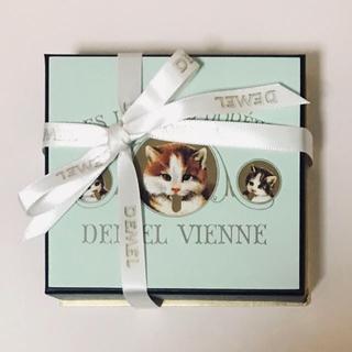 DEMEL デメル チョコレート ソリッドチョコ 猫ラベル ミルク