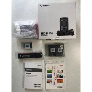 キヤノン(Canon)のCanon EOS M6 ボディ ブラック 新品 未使用品(ミラーレス一眼)