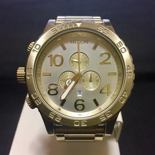 ニクソン(NIXON)のNIXON 51-30 シャンパンゴールド(腕時計(アナログ))