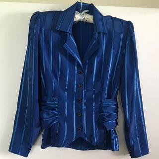 ロキエ(Lochie)のvintage jacket blouse(シャツ/ブラウス(長袖/七分))