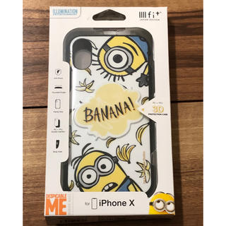 iPhoneX ケース イーフィット3Dミニオン