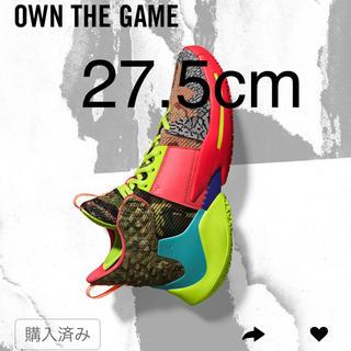 ナイキ(NIKE)の27.5 JORDAN why not ZERO.2 OWN THE GAME(バスケットボール)