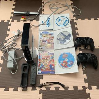 ウィー(Wii)のWii本体  PROコン  スマブラ等セット(家庭用ゲーム本体)