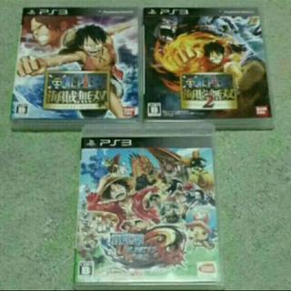 プレイステーション3(PlayStation3)のワンピース セット(家庭用ゲームソフト)