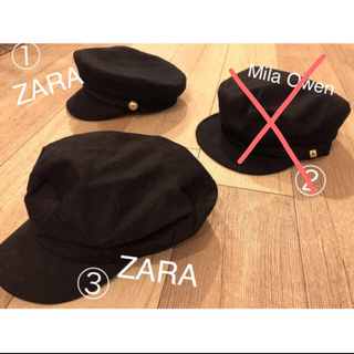 ザラ(ZARA)のZARA.帽子 キャップ、キャスケット(帽子)