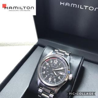 ハミルトン(Hamilton)のハミルトン  カーキフィールドオート 44mm H706251 SSブレス(腕時計(アナログ))