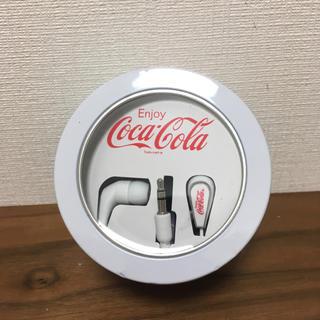 コカコーラ イヤホン 白
