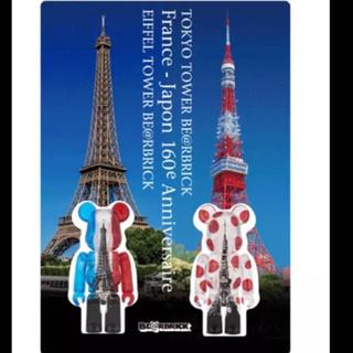 MEDICOM TOY - TOKYO TOWER BE@RBRICK + EIFFEL TOWER