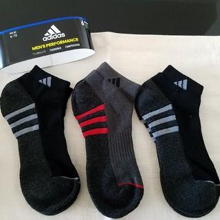 アディダス(adidas)のアディダス メンズソックス 3足セット 靴下(ソックス)