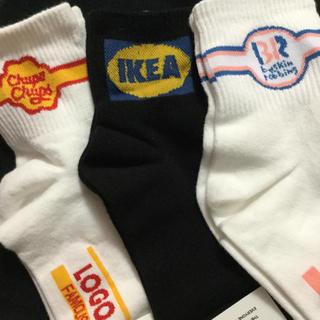 新品 靴下 ソックス IKEA チュッパチャプス サーティーワン(ソックス)