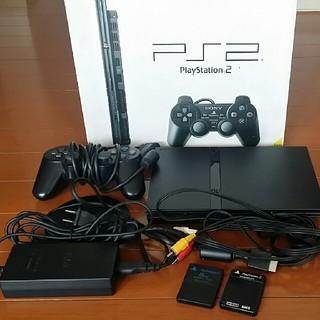 プレイステーション2(PlayStation2)のPlayStation2 SCPH-70000 CB 100V 本体(家庭用ゲーム本体)