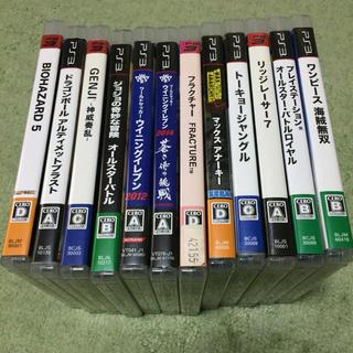 プレイステーション3(PlayStation3)のPS3 12本セット(家庭用ゲームソフト)