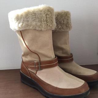ヒロミチナカノ(HIROMICHI NAKANO)のヒロミチナカノ ムートンブーツ 25センチ(ブーツ)