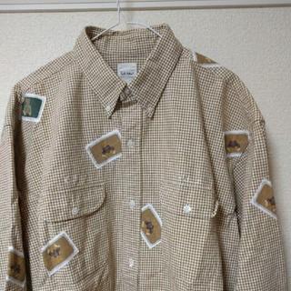 クマさん柄シャツ