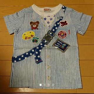 mikihouse - ミキハウス だまし絵 Tシャツ 110センチ