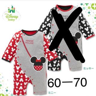 Disney - ロンパース  60 70 ミニーちゃん