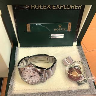 ロレックス(ROLEX)のROLEX ロレックス エクスプローラーⅡRef.16570 Z品番 2007年(腕時計(アナログ))