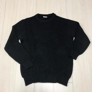 ジーユー(GU)のGU ニット ブラック(ニット/セーター)