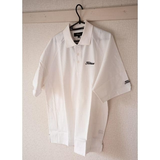 タイトリスト(Titleist)の新品未着用 Titleist ポロシャツ 白 Lサイズ(ポロシャツ)