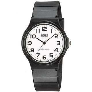 [カシオ]CASIO 腕時計 スタンダード 黒(腕時計(アナログ))