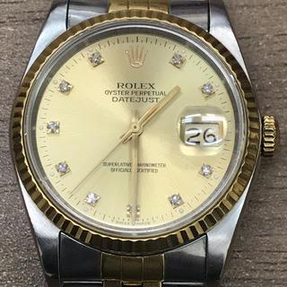 ロレックス(ROLEX)のロレックス デイトジャスト 16233G 旧ダイヤ(腕時計(アナログ))