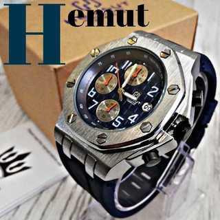 【海外限定】HemutNavy8810 【モデル】ダイヤルマグナム 腕時計 (腕時計(アナログ))