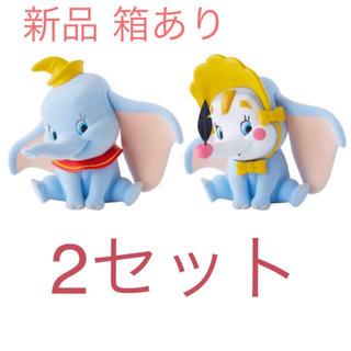 Disney - Fluffy Puffy ダンボ 2種類 フィギュア ピエロ ディズニー