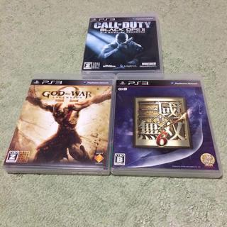 プレイステーション3(PlayStation3)のPS3 3本セット(家庭用ゲームソフト)