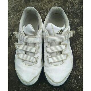 アディダス(adidas)のアディダス トレーニングシューズ  白 23.0cm(シューズ)