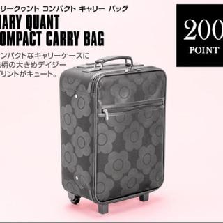 マリークワント(MARY QUANT)のマリークワント ノベルティ キャリーケース(スーツケース/キャリーバッグ)