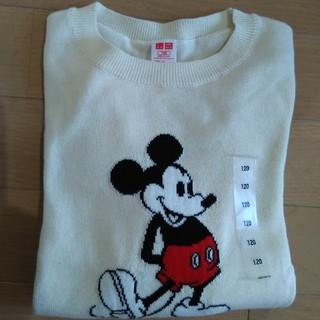 ユニクロ(UNIQLO)のユニクロ 未使用ミッキーマウス♪セーター♪120(ニット)