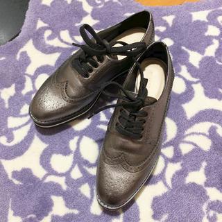 ザラ(ZARA)のオックスフォードシューズ(ローファー/革靴)