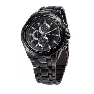 売れてます☆ウォッチ ステンレススチール クォーツ 腕時計(ブラック)(腕時計(アナログ))