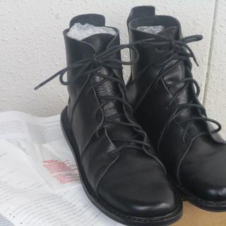 トリッペン(trippen)のTrippen◆トリッペン NOMAD ノマド 黒 38◆23.5~24cm(ブーツ)