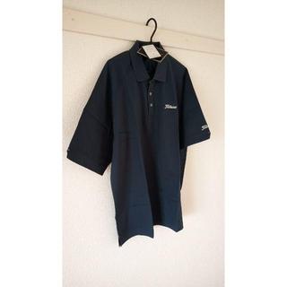 タイトリスト(Titleist)の新品未着用 Titleist ポロシャツ 紺色 Mサイズ(ポロシャツ)