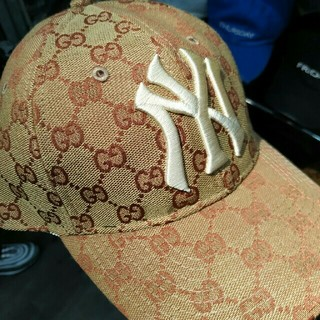 Gucci - グッチ GUCCI NY GG キャップ 帽子