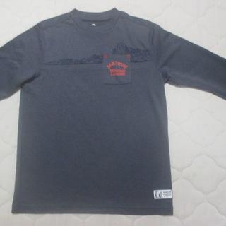 マーモット(MARMOT)のマーモット ロングシャツ  グレー系 サイズM(Tシャツ/カットソー(半袖/袖なし))