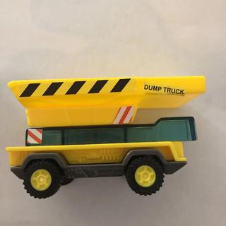 のりものブロック ダンプカー(ミニカー)