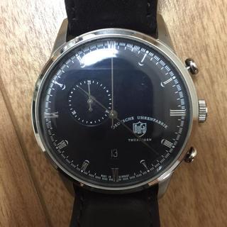 DUFA ネイビー 腕時計(腕時計(アナログ))