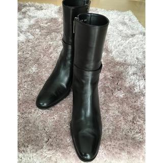 リーガル(REGAL)のリーガル   ショートブーツ   黒   ✨美品✨(ブーツ)