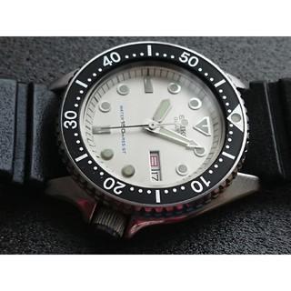 セイコー(SEIKO)のセイコー 6458-600B + プロテクター付き(腕時計(アナログ))