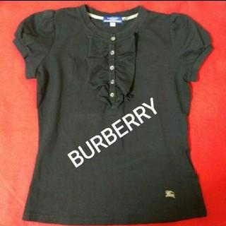 バーバリー(BURBERRY)のBURBERRY❤フリル付き ポロシャツ M(ポロシャツ)