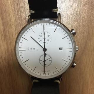 ノット(KNOT)のknot ノット 腕時計 cc-39(腕時計(アナログ))